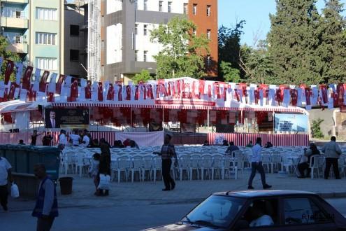 Kahramanmaraş'ta Dev İftar Sofrası