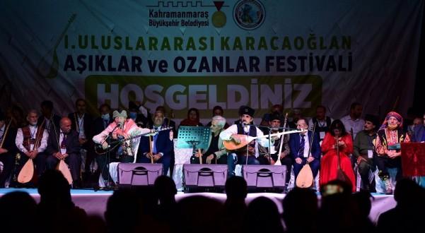 Kahramanmaraş'ta 'I. Uluslararası Âşıklar ve Ozanlar Festivali'