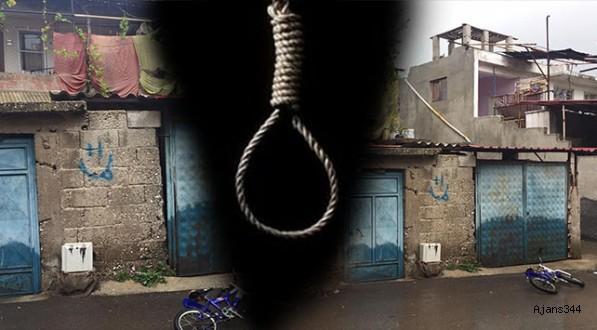 Kahramanmaraş'ta intihar!