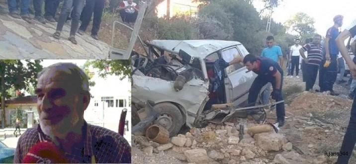 Kahramanmaraş'ta kaza: 1 ölü, 5 yaralı