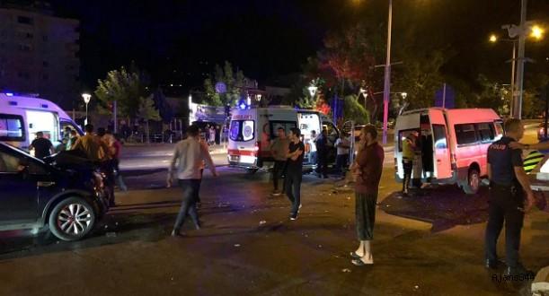 Kahramanmaraş'ta kaza: 7 yaralı