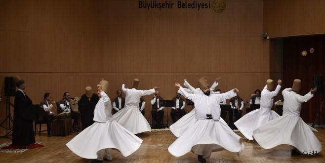 Kahramanmaraş'ta Mevlana Özel Programı