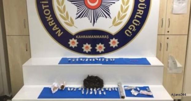 Kahramanmaraş'ta Uyuşturucu Operasyonu: 2 Gözaltı,3 Tutuklama