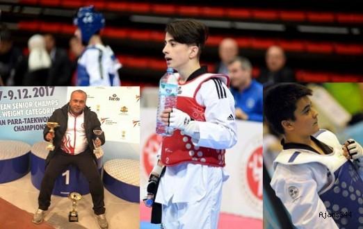 Kahramanmaraşlı Taekwondocular Türkiye'yi temsil edecek