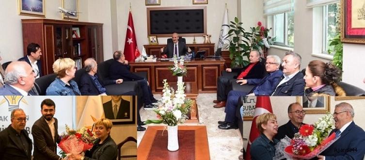 KGC'den Başkanlara 'hayırlı olsun' ziyareti