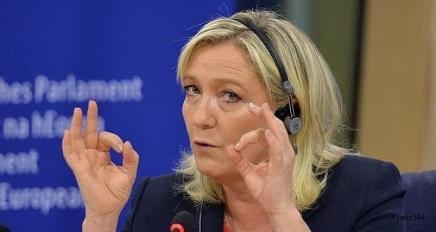 Le Pen'den komik 'marş' tepkisi