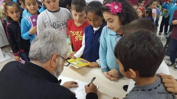 Nalbant, minik öğrenciler ile buluştu