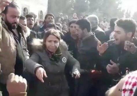Menbiç'te halk PKK'ya karşı ayaklandı