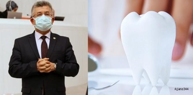 MHP'li Aycan,Ağız ve Diş Sağlığının Durumunu Sordu