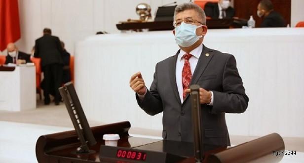 MHP'li Aycan Göksun yolunun durumunu sordu