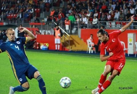 Milli Takım Rusya öncesi umut verdi: 0-0