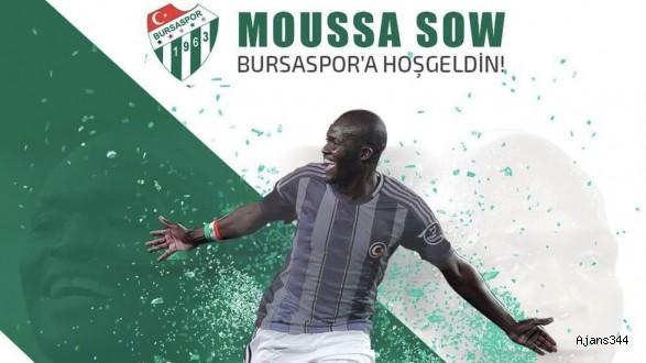 Moussa Sow Bursaspor'da...