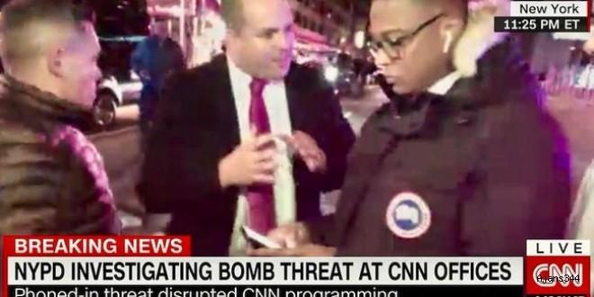 New York'taki CNN binasında bomba paniği