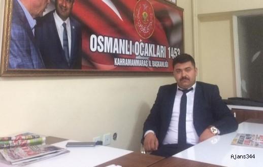 OSMANLI PARTİSİ MARAŞ İL BAŞKANI BELLİ OLDU