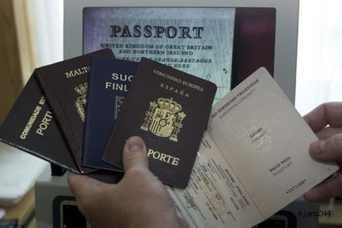 Passaport kontrolünde yeni dönem