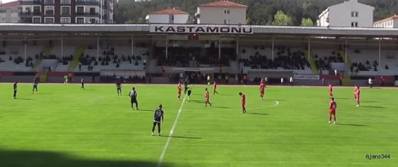 Piserro KMS Kastamonu'dan boş döndü: 1-0