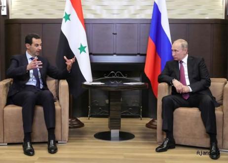 Putin ve Esad Soçi'de buluştu