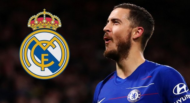 Real Madrid, Eden Hazard'ı transfer etti