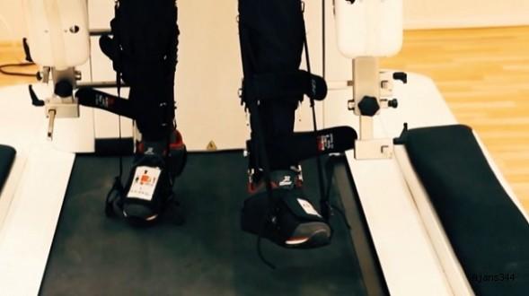 Robotlar yürüme engelliler için umut oldu