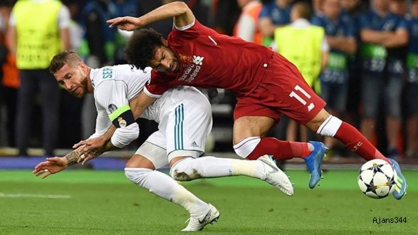 Salah'tan Sergio Ramos'a Cevap