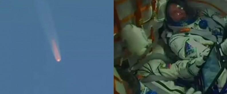 Soyuz'un fırlatılışında beklenmedik kaza!