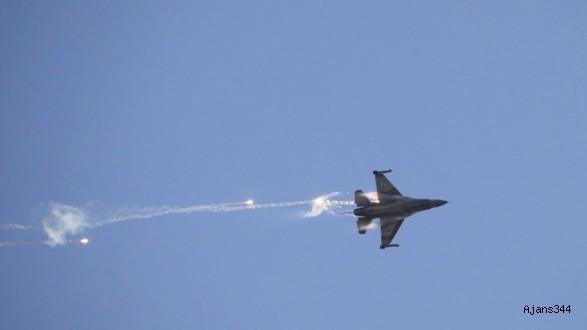 Suriye rejimi İsrail uçağını vurdu