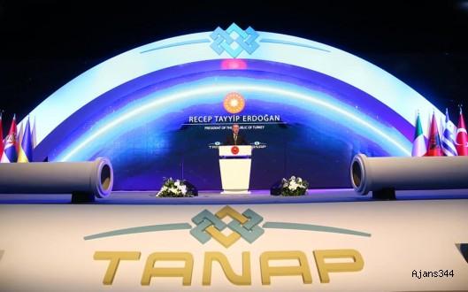 TANAP'tan ilk gaz akışı başladı