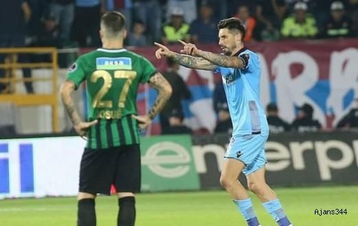 Trabzonspor deplasmanda güldü: 1-3